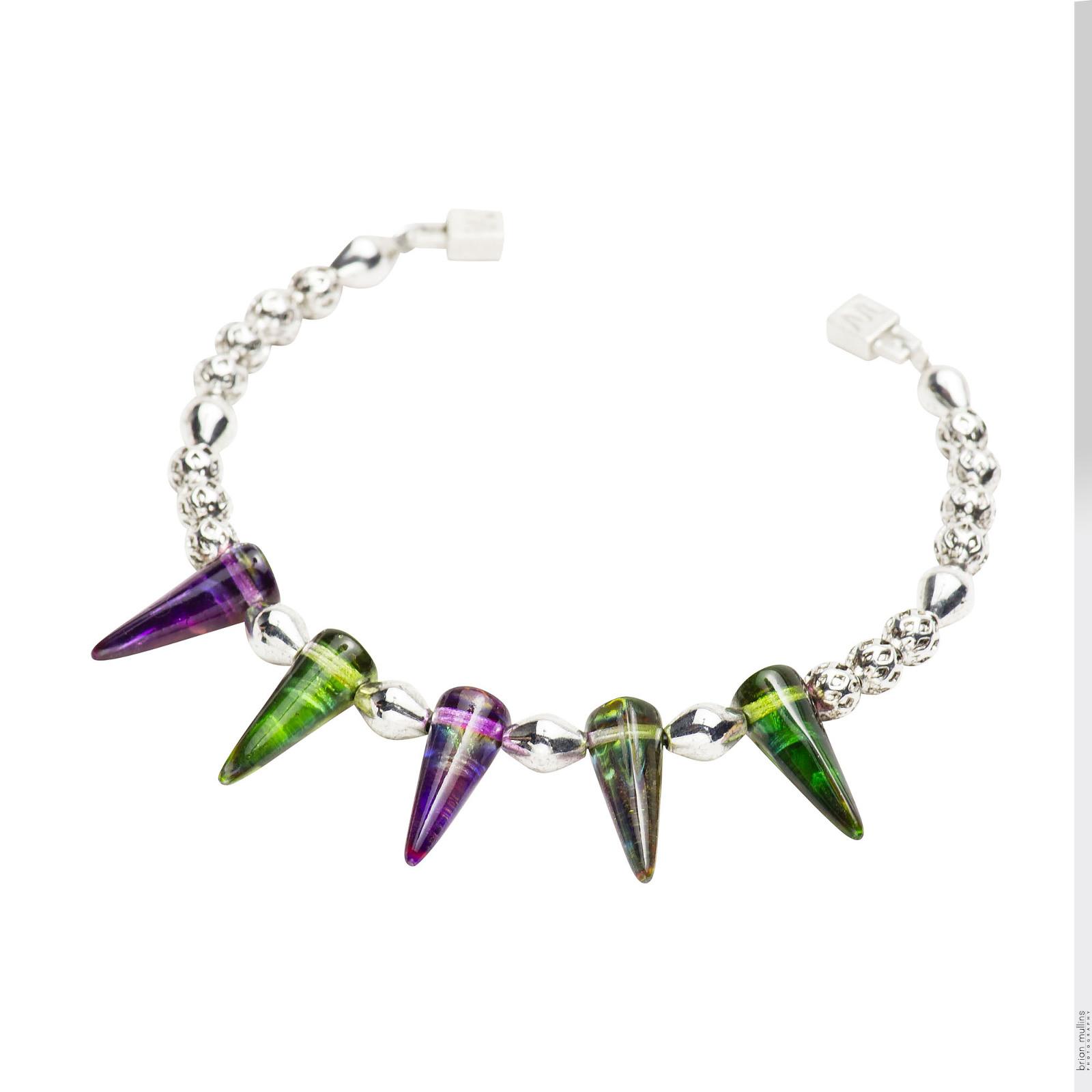 spike glass jewelry